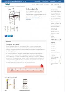 Captura web plabell de productos